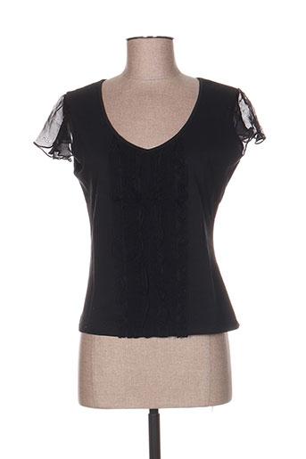 ernest chemises femme de couleur noir