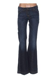 Jeans bootcut bleu ARMANI pour femme