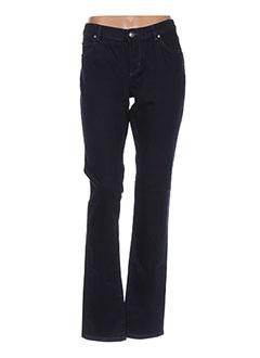 Pantalon casual bleu CERUTTI pour femme