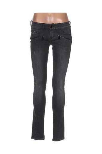 barbara bui jeans femme de couleur gris