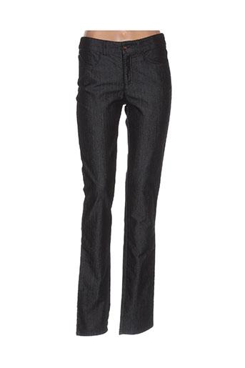 armani jeans femme de couleur noir