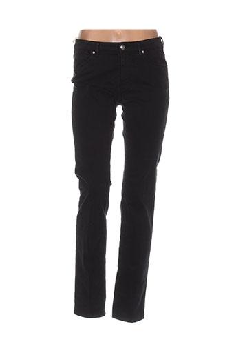cerutti pantalons femme de couleur noir