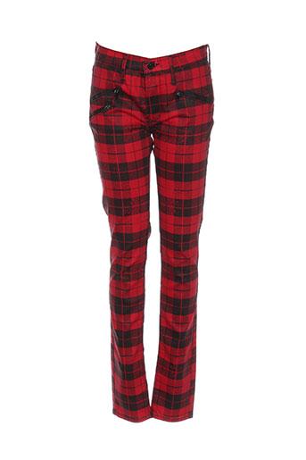 Pantalon casual rouge BLACK ORCHID pour femme