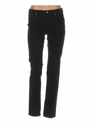 Pantalon casual noir CERUTTI pour femme