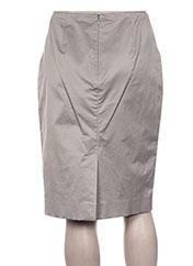 Jupe mi-longue gris PAULE KA pour femme seconde vue