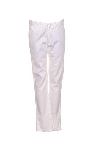 Pantalon casual blanc VICOMTE ARTHUR pour fille
