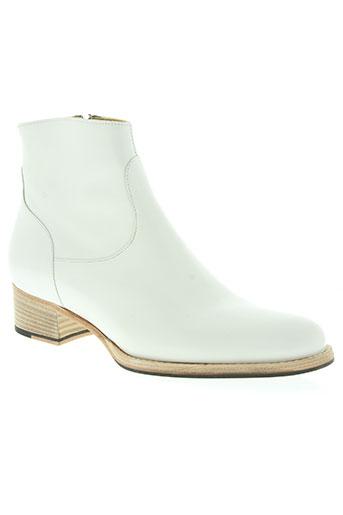 free lance chaussures femme de couleur blanc