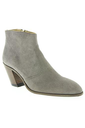 free lance chaussures femme de couleur gris