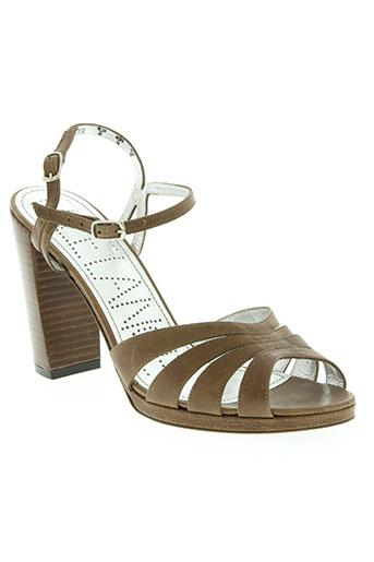 free lance chaussures femme de couleur marron