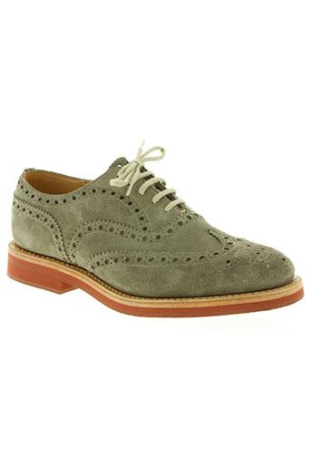 church's chaussures homme de couleur beige