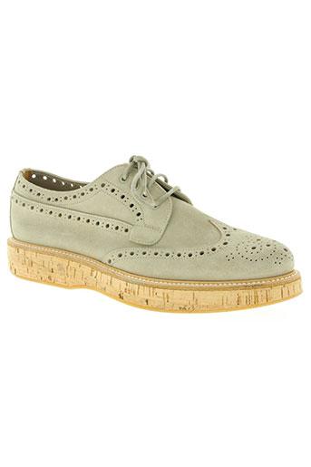 church's chaussures femme de couleur beige