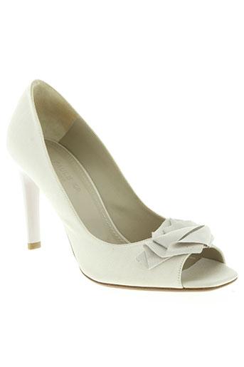 paul ka chaussures femme de couleur beige