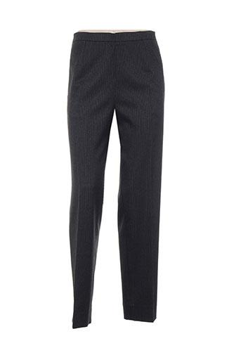 emmanueli pantalons femme de couleur gris
