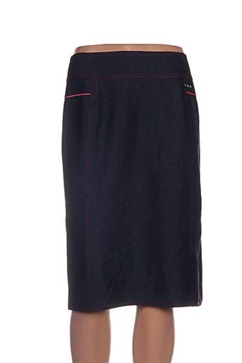 parisiennes jupes femme de couleur noir