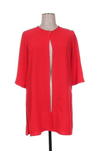 oltre tempo vestes femme de couleur rouge
