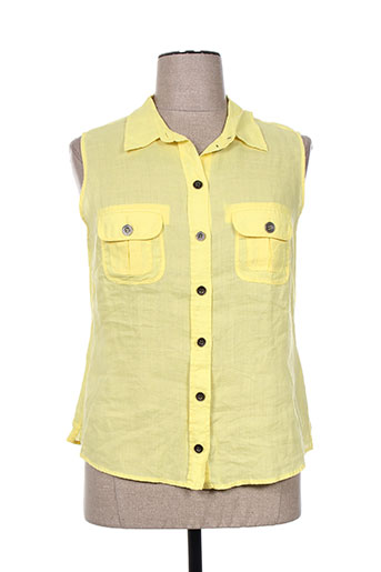 malvin chemises femme de couleur jaune