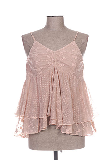 rhum raisin chemises femme de couleur rose