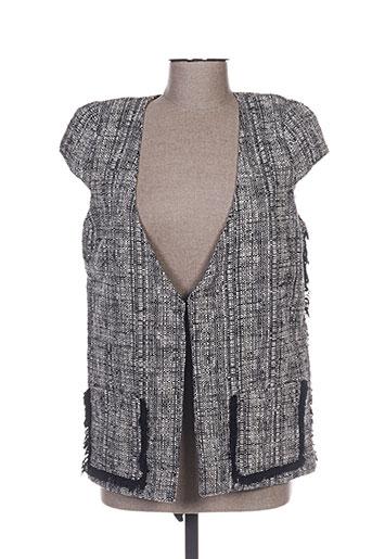 bel air vestes femme de couleur gris