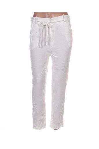 Pantalon casual beige BELAIR pour femme