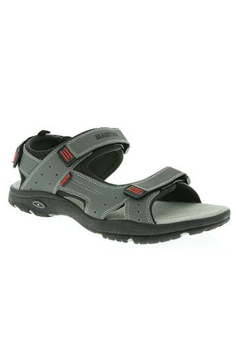 manitou chaussures homme de couleur gris