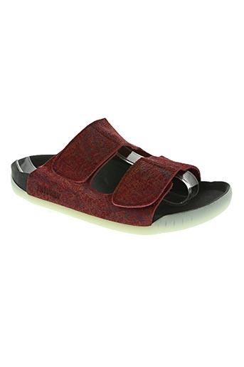 payukan chaussures femme de couleur rouge
