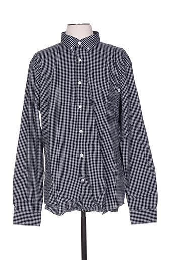 Chemise manches longues bleu TIMBERLAND pour homme