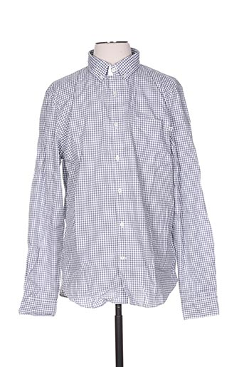Chemise manches longues gris TIMBERLAND pour homme