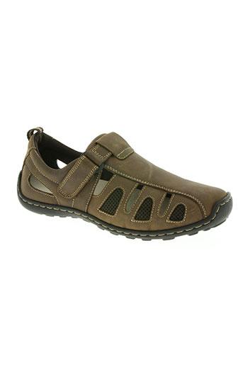 altex chaussures homme de couleur marron