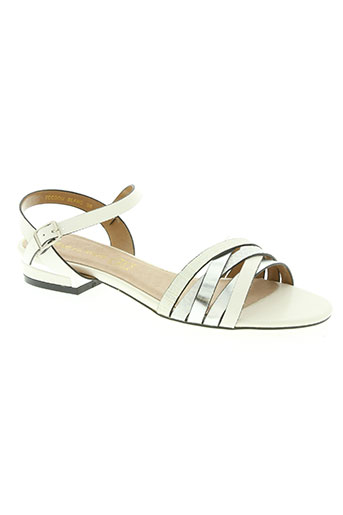elue par nous chaussures femme de couleur blanc