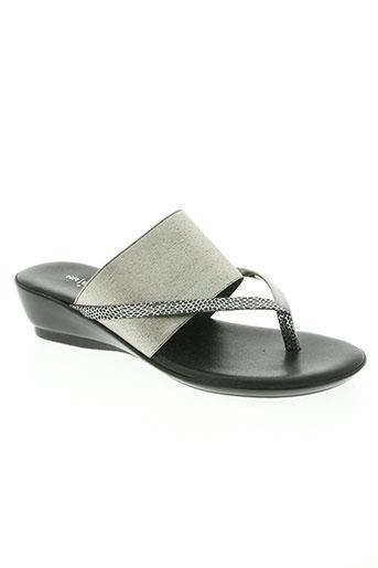 rapisardi chaussures femme de couleur gris
