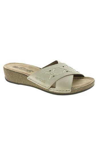 florance chaussures femme de couleur gris