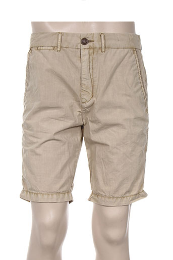 red soul shorts / bermudas homme de couleur beige