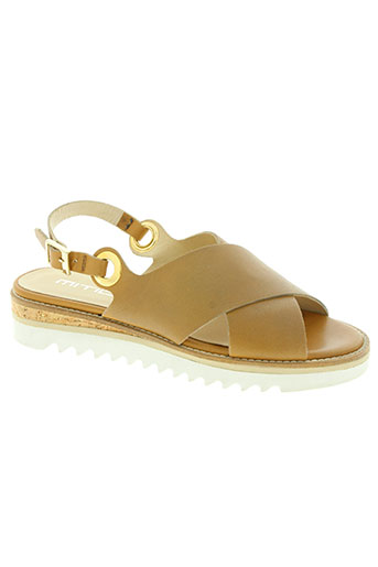 mitica chaussures femme de couleur marron