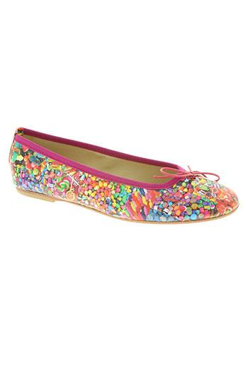 zona centro chaussures femme de couleur rose