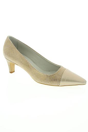 mitica chaussures femme de couleur beige