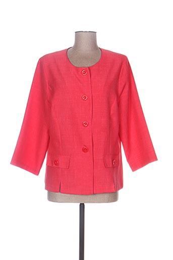 Veste casual orange GRIFFON pour femme