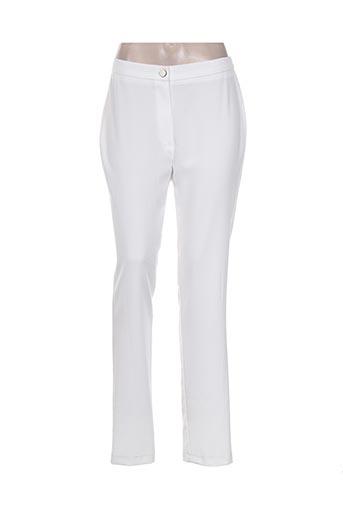 Pantalon chic blanc GRIFFON pour femme