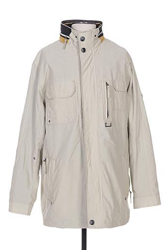 cabano vestes homme de couleur beige