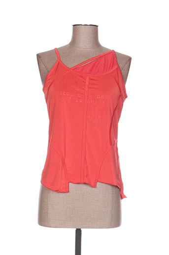 la belle histoire t-shirts femme de couleur orange