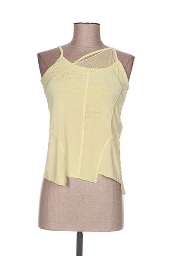 la belle histoire t-shirts femme de couleur jaune