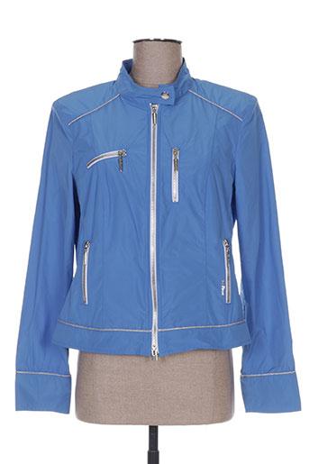 airfield manteaux femme de couleur bleu