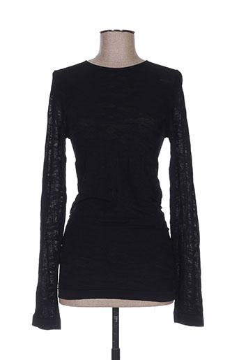 maxmara chemises femme de couleur noir
