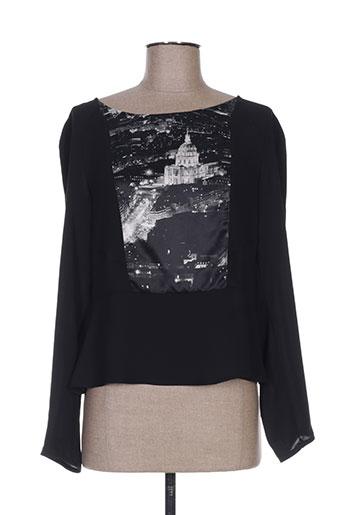 la manufacture 8 linvingstone chemises femme de couleur noir