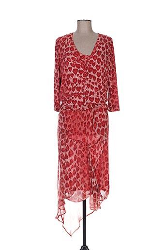 isabel de pedro ensembles femme de couleur rouge