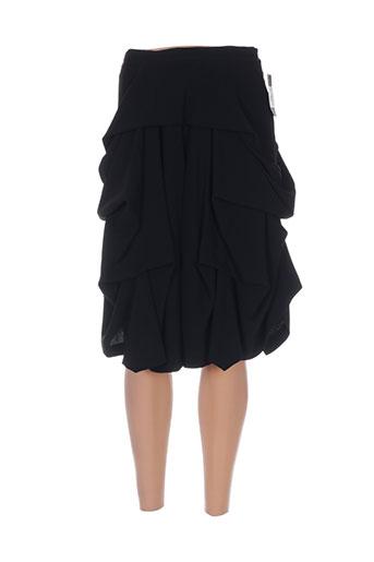 atika jupes femme de couleur noir