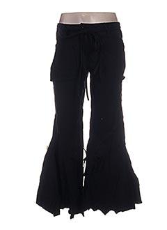Pantalon casual noir VIRGINIE & MOI pour femme