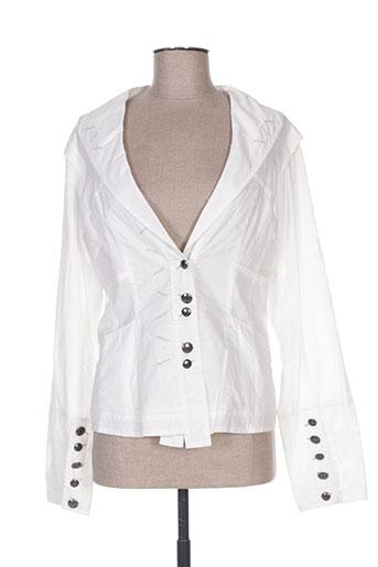 Veste casual beige ET COMPAGNIE pour femme