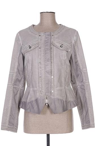 Veste casual gris ET COMPAGNIE pour femme