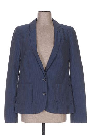 Veste chic / Blazer bleu IKKS pour femme