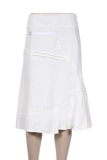 perspectives jupes femme de couleur blanc